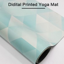 2017 Can print your own design custom printed yoga mats