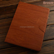 Material safe Multi-color Strap Designed tree texture pu leather tablet cover for Apple iPad 6/Ipad 5