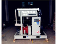 75kW 100HP oil free&ordinary pressure screw air compressor, 0.7Mpa,7bar,12.5m3/min