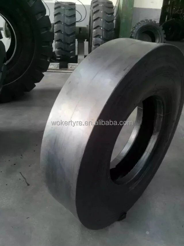 WOKER mining smooth tread otr tyres WGB107 look for dealers from manufacturer