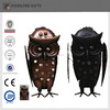 metal home deco owl statues