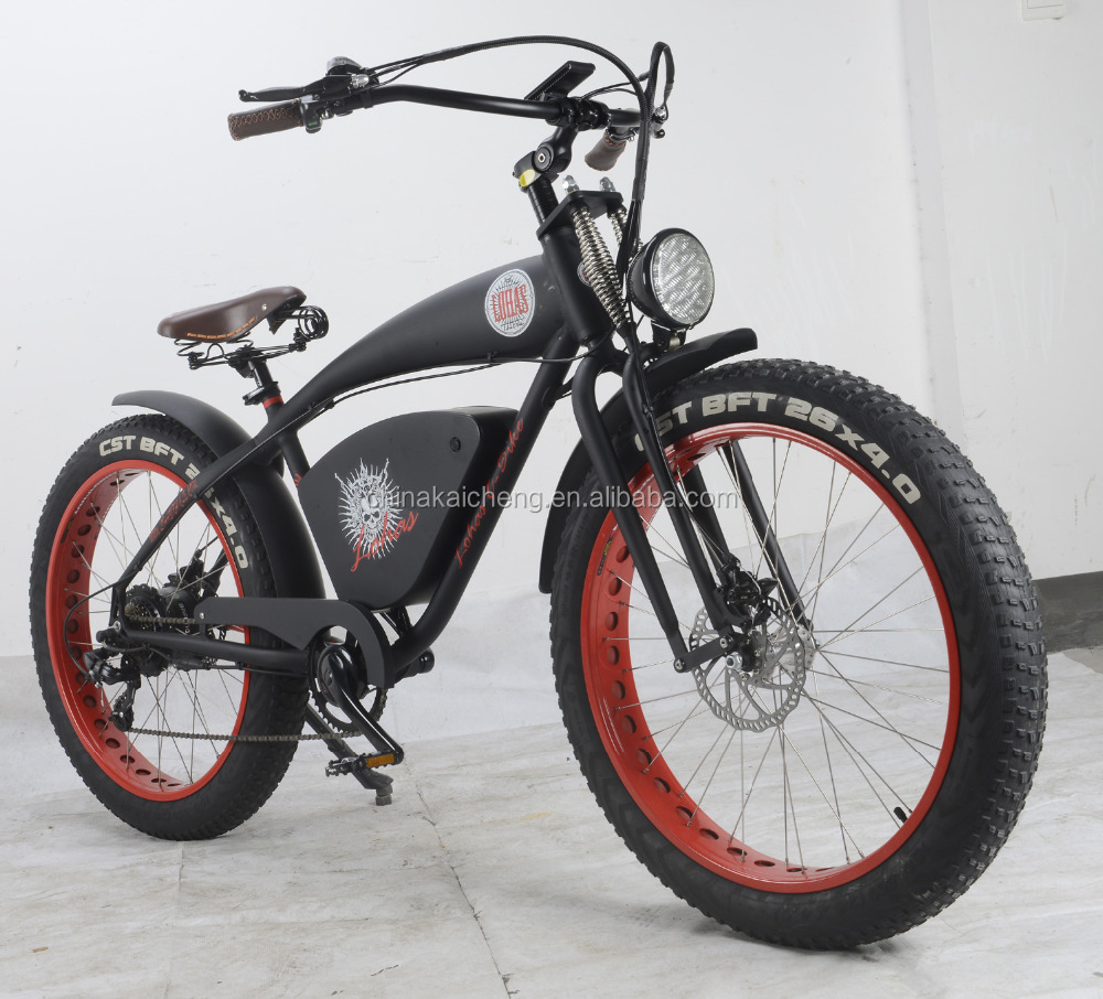 Lohas/OEM 26*4.0 1000W Alaska ,snow riding vintage fat electric bike