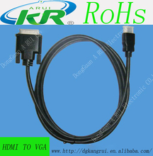 Hdmi to vga converter cable for 1080i 1080p