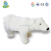 High quality lifelike polar bear stuffed animals&plush toys