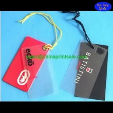 2015 Alibaba China new design labels hang tags for clothes hot selling