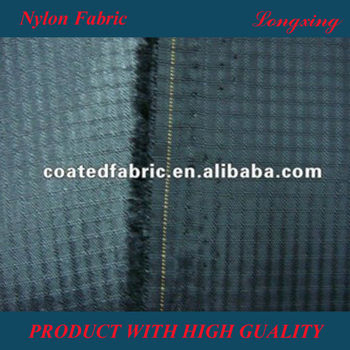 Nylon Fabric 210D ripsotp with PU coating