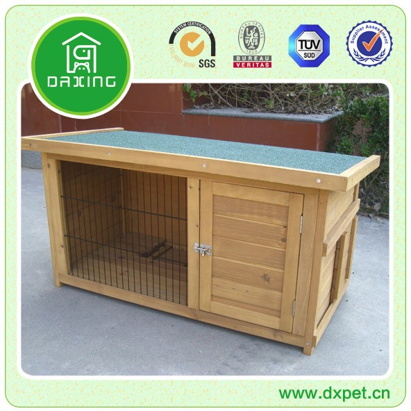Wooden Outdoor House For Rabbit