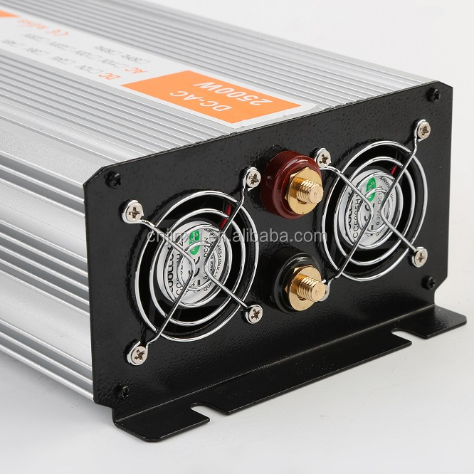 2500W <strong>DC</strong> to AC pure sine wave power inverter peak power 5000W dual digital display power inverter