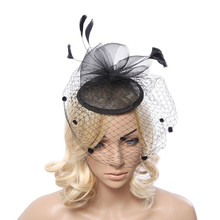 Fashion Bridal Decorations Feather Wedding Fascinators And Hats