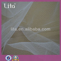Lita J030270 20D warp knitted ladder stock nylon fabric mesh