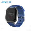 2017 APPSCOMM Smart Watch Bluetooth Waterproof Touch Screen Wrist Watch Heart Rate Monitor for Android and IOS Phone