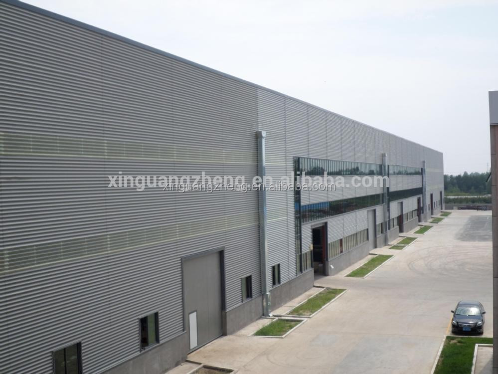 steel construction mordern factory prefab warehouse steel structure building