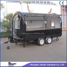 2017 Shanghai Jiexian hot selling JX-FR350W food trailer/food cart/food truck for ice-cream, coffee, snack FACTORY PRICE