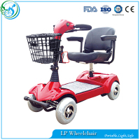 Portable 4 wheel elderly electric Mobility scooter