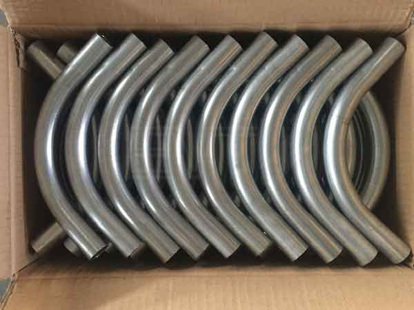 UL standard galvanized steel emt conduit elbow for