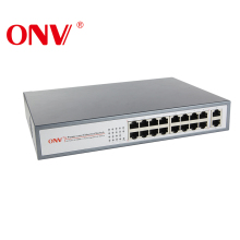 CCTV OEM di Vendita Caldo Smart 16 Porte Switch POE