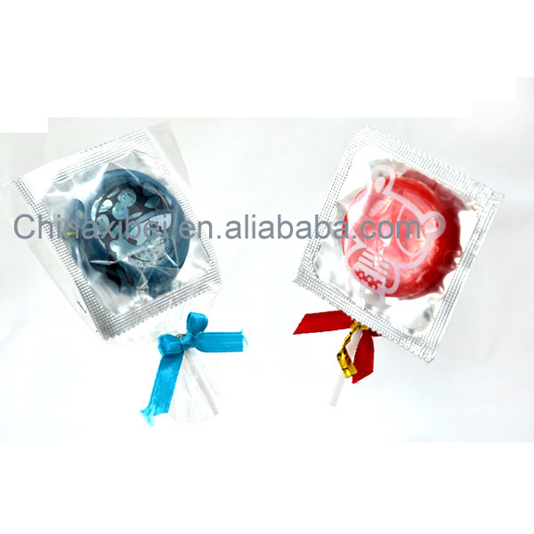 Hot sale product of latex male condom made in China