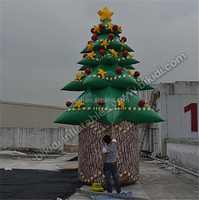 Indoor giant inflatable christmas tree for festival decotation C1042