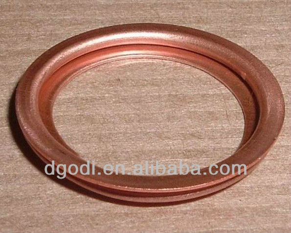 high quality copper hydraulic seal washers