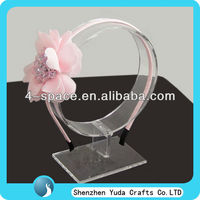 acrylic Alice band display Hair Ornaments Display Props Hairpin Display Rack, Jewelry Showing Stand