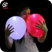 2016 Brilliant Holiday and Event Article LED Flying Flash Balloon with Custom Logo