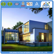 Various types container house duplex modern villa