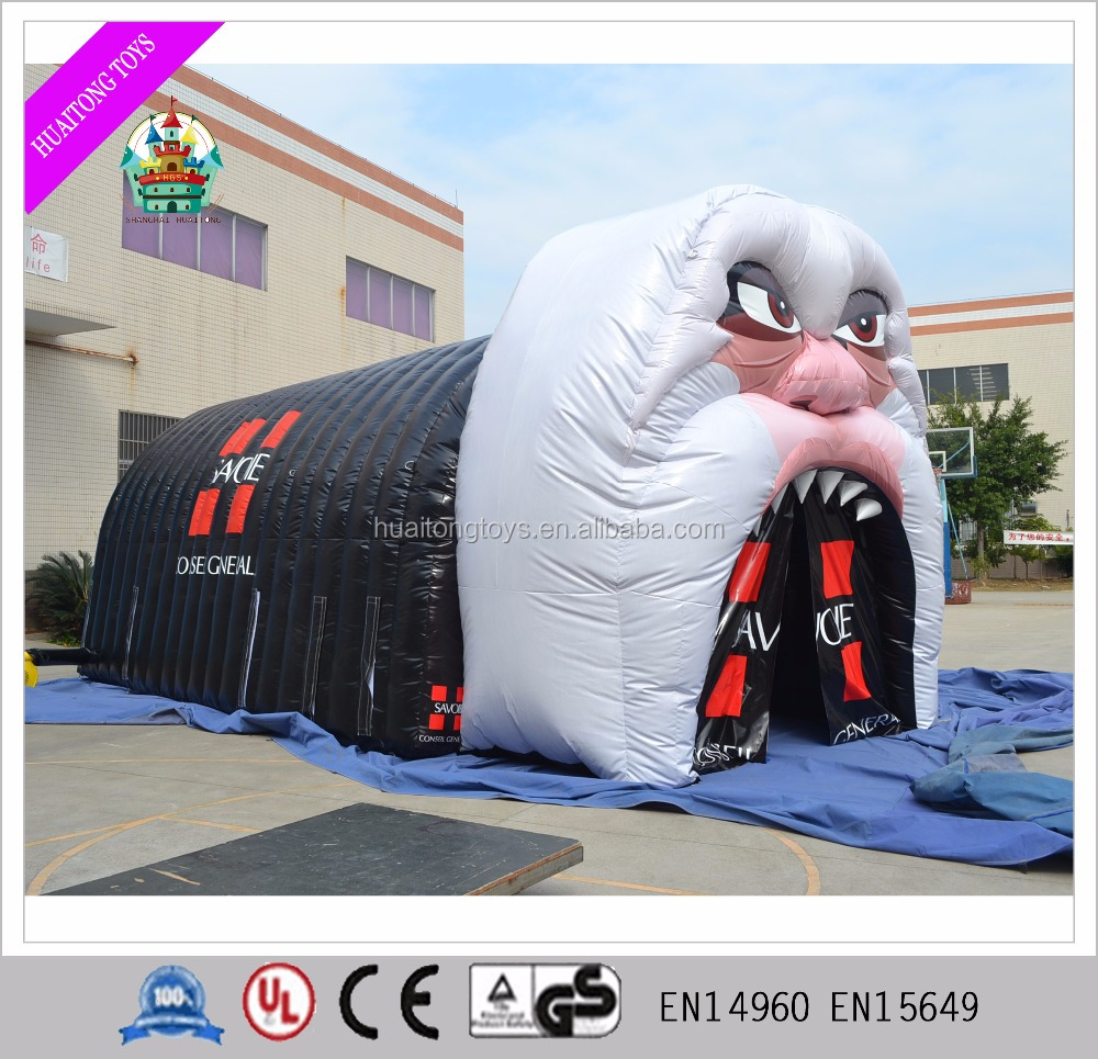 Attractive customized inflatable model tent for advertising inflatable tent