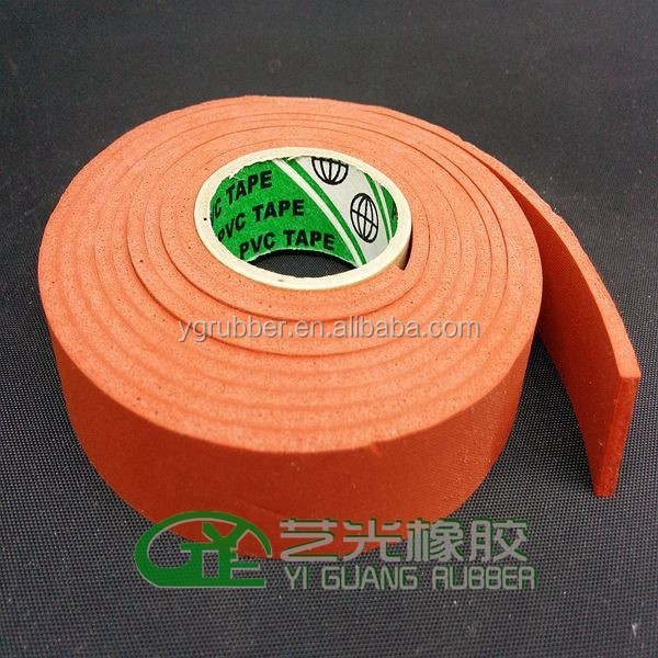 silicone foam rubber product