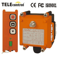 2 buttons single speed industrial radio remote control for crane F21-2S wireless control for lifting equipment