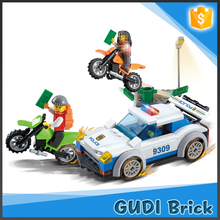 158 PCS children educational toy police series enlighten brick toy game