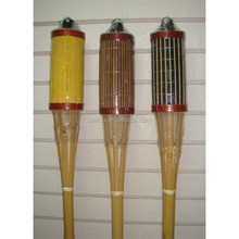 Decorative Bamboo Crafts Festival Bamboo Tiki Torches