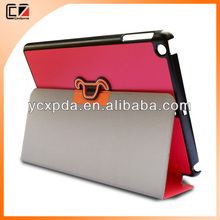 2014 Newest flip stand PU leather case for 9 inch tablet PC,for iPad air