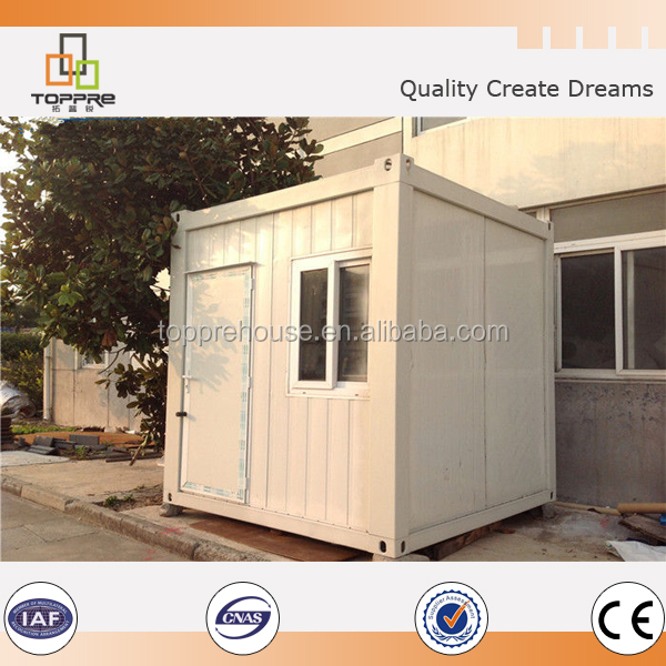 mobile portable toilet made by 20ft flat pack container house