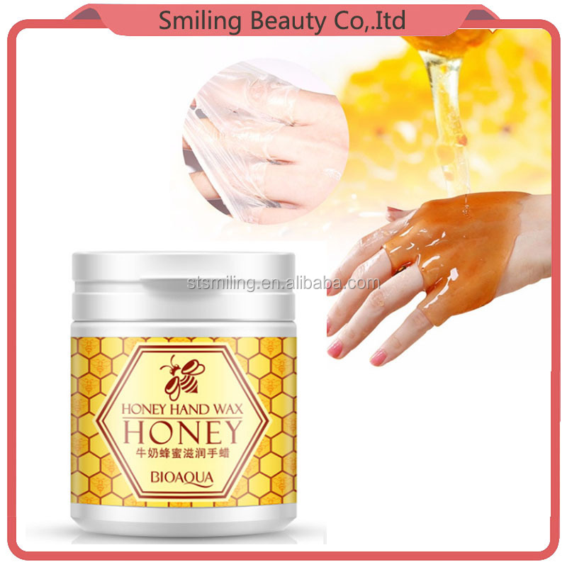 BIOAQUA Honey Milk Whitening Peel Off Exfoliating moisturizing peeling whitening Hand Foot Mask Wax