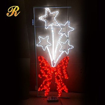 LED motif lights church christmas decorations