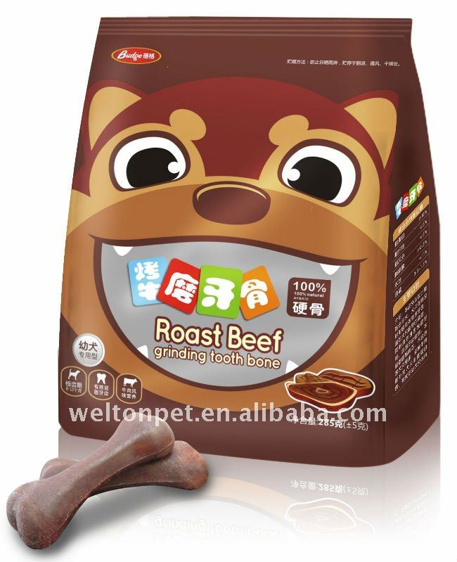 100% Natural Roast Beef Teeth-Grinding Bone Pet Food Big Bag