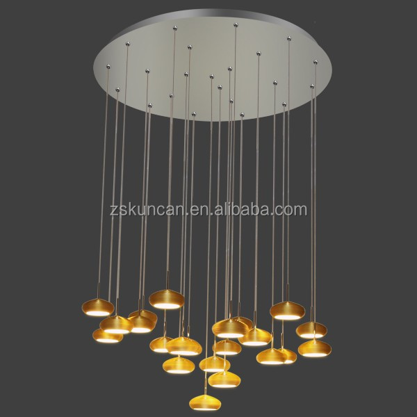 Exquisite appearance contemporary luxury led chandelier