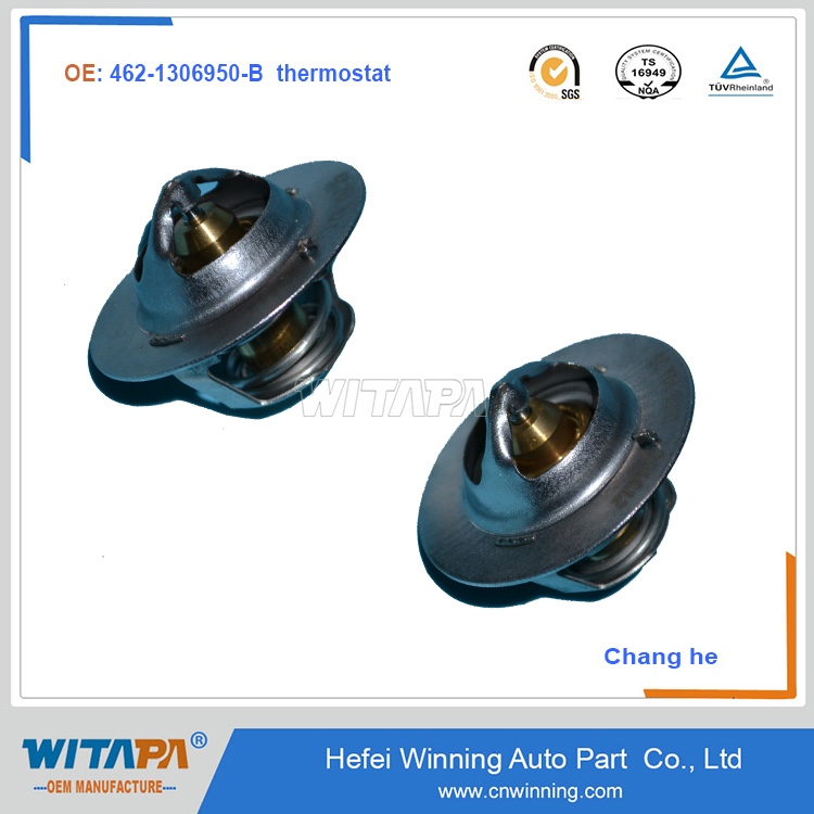Original quality auto spare parts 462-1306950-B thermostat for Changhe car model