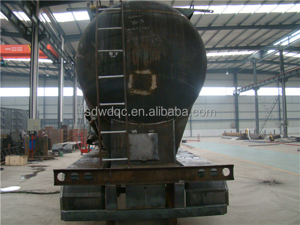 High Quality 45m3 3 axle bulk cement tank trailer bulk cement compressor