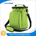 Canvas Green bento kids lunch box for gym