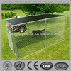 galvanized chain link dog fence