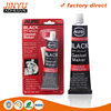 Factory direct sale environmental waterproof siliconesealant red/black/grey/black rtv silicone sealant/insulation adhesive glue
