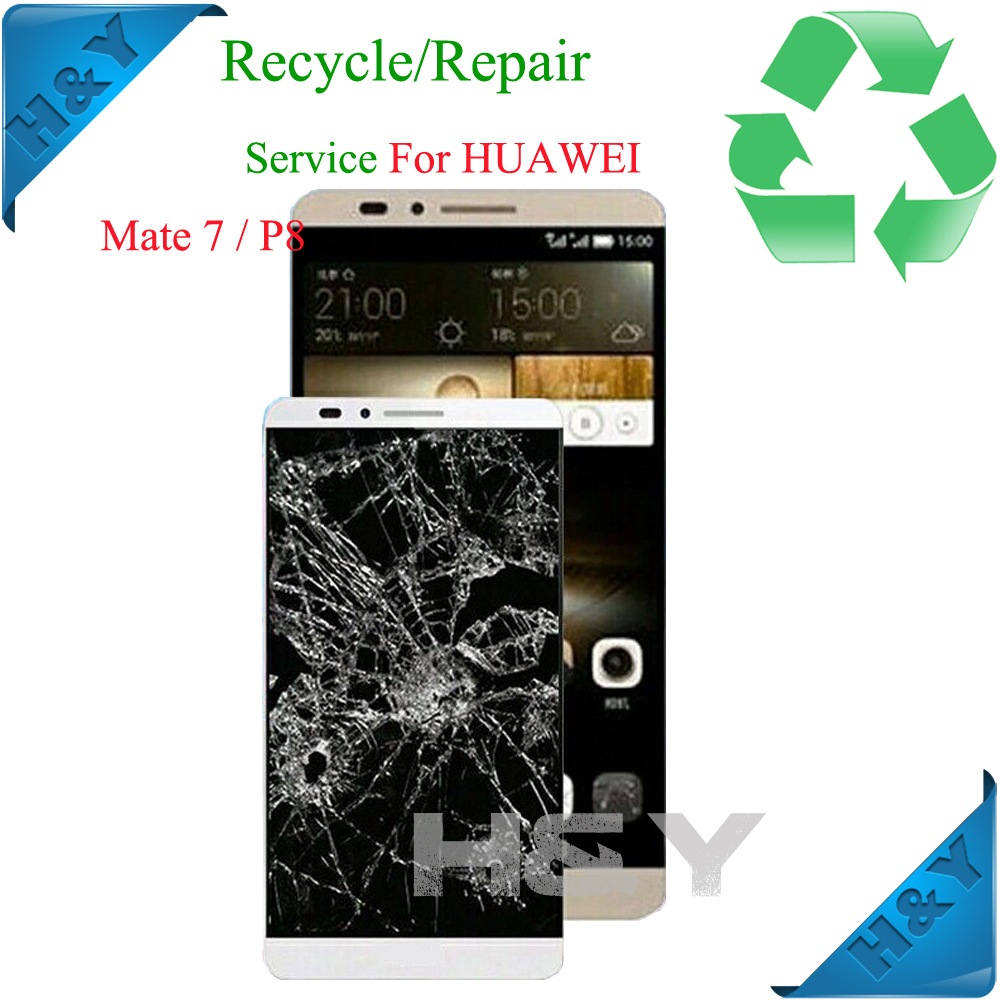 For Samsung Galaxy Note 3 N9005 LCD Display Broken Glass Repair Screen Touch Recycle lcd fix flex cable