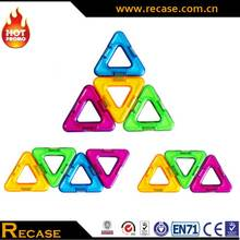 Triangle Construction Magnetic Blocks Building Set Magnetic Tiles for Toddlers Kids Children 77 Piece