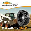Cheap High Quality Small Wheel Loader Sk Solid Skid Steer Tires