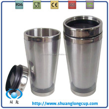 16 OZ Double Wall Stainless Steel Photo Insert Travel Mug, 450 ML Customized LOGO Printed Promotional Travel Mug / Tumbler