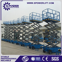 Best price China hydraulic electric scissor lift tabel 1ton for sale
