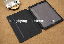 Ultra thin leather case for ipad air , for ipad air leather case