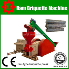 super 70 sawdust cylindrical logs briquetting press machine