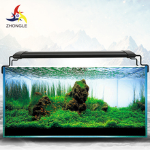 Aquarium LED lamp with holder for fish tank plant lighting